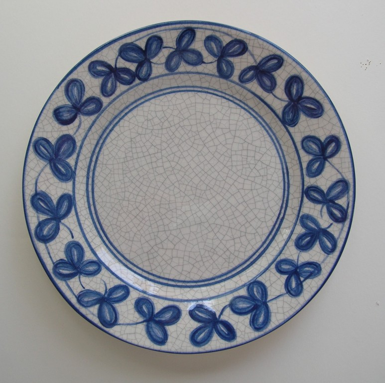 Dedham Pottery Clover Plate