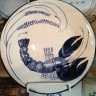 Dedham Pottery Lobster Plate