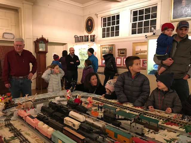 The Trains are Returning for the Annual Dedham Square Holiday Stroll!