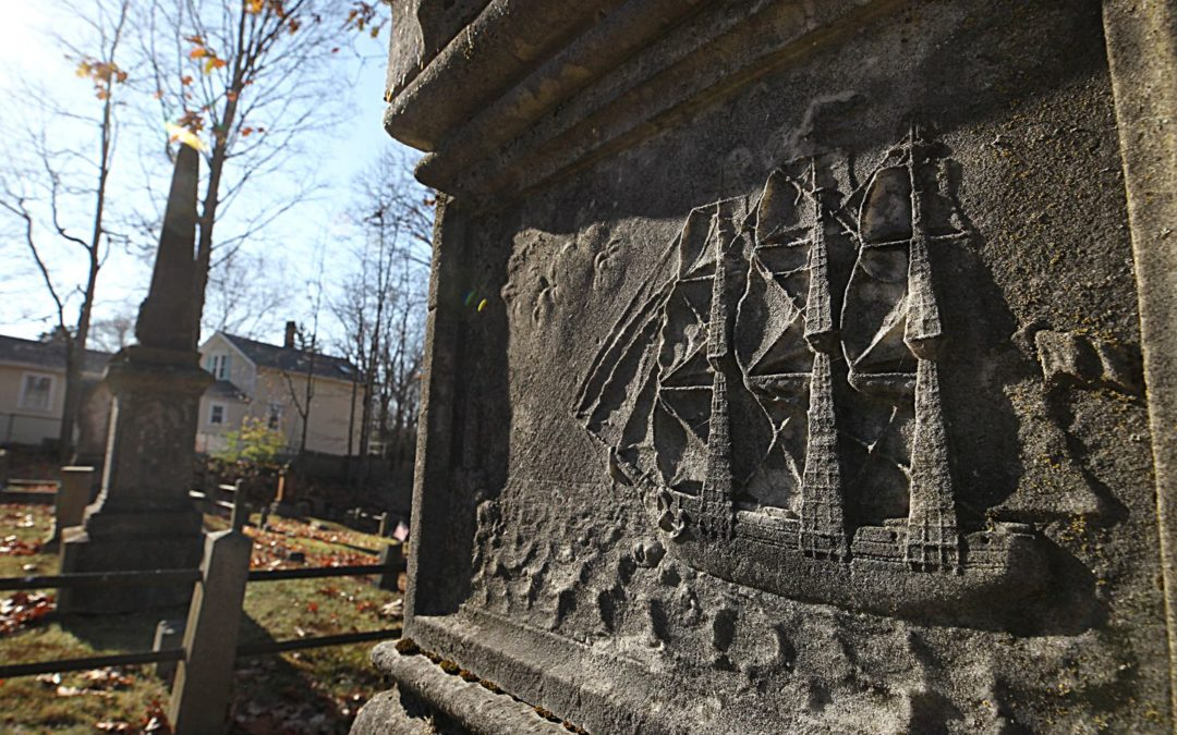 A Shipwreck Commemorated in Dedham