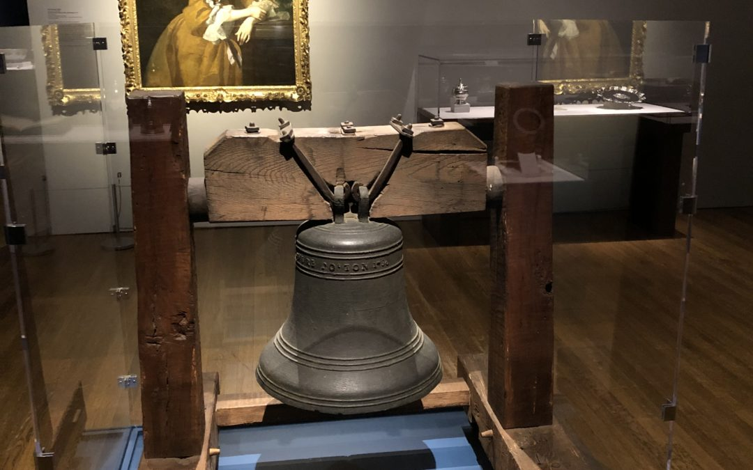 DHSM's Paul Revere Bell on exhibit at Worcester Art Museum