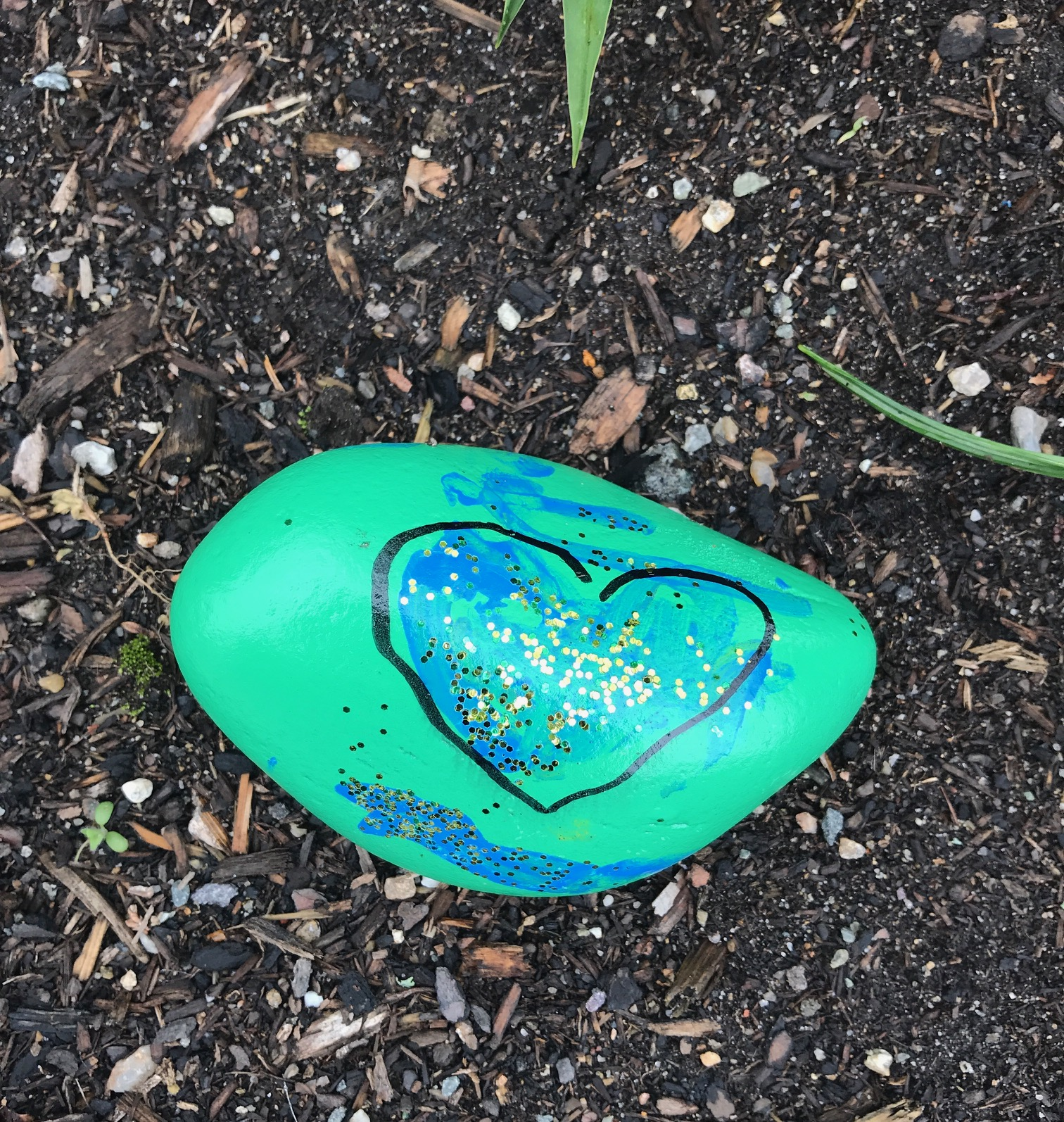 PaintedRockFoundInDHSMgarden_OthersInTown_May2020