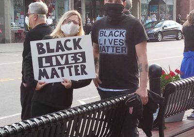 BLM protest, June 2020.